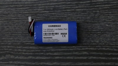 coremax lithium ion li ion 7.4v battery pack 2000mah