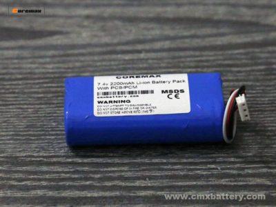 li-ion battery pack 2200mah 7.4volt
