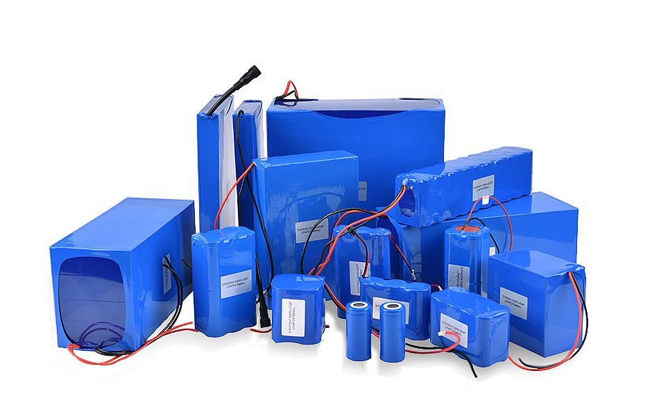 rechargeable lithium ion battery packs