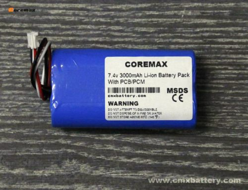 18650 li-ion battery pack 2s1p 7.4v 3000mAh Li-ion battery pack