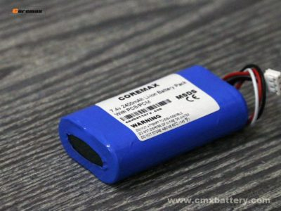 Li-ion battery 7.4v 2400mAh POS Battery Pack 2S Custom Battery pack