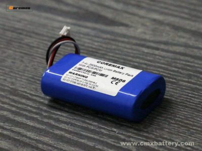7.4v 2600mAh battery pack
