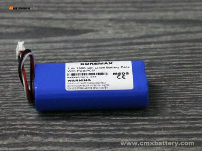 Li-ion battery 7.4v 2800mAh POS Battery Pack 2S-3