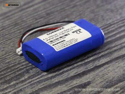 Lithium iron phosphate LiFePo4 6.4v 1500mAh 3.2v IFR18650 2S 1P battery pack