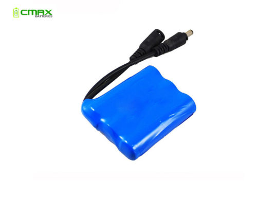 11.1V 2200mAh 18650 Li-ion battery pack rechargeable lithium ion battery 3S 1P
