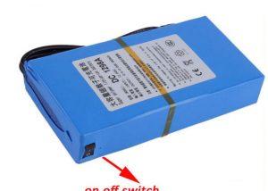 12v dc portable battery pack