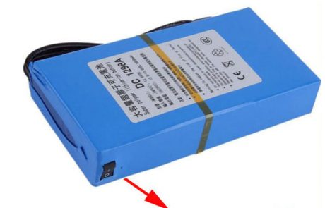 12v dc portable battery pack