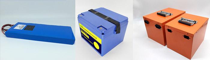custom lithium ion battery packs