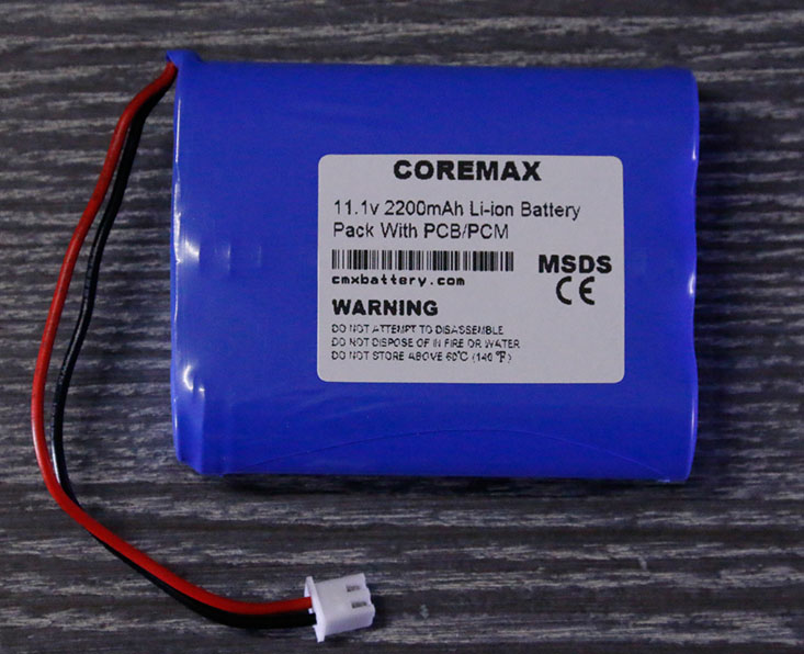 Small size 12 volt lithium battery