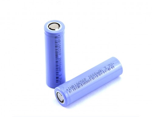 China 18650 battery 2000mah 3.7 volt rechargeable lithium cell
