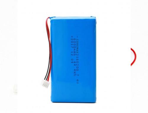 7.4 volt lithium rechargeable li polymer (li po) battery 7.4 v 6000mAh