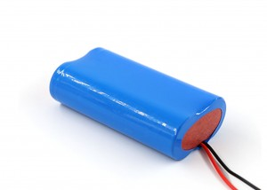 7.4V Lithium battery pack 18650 2000mah