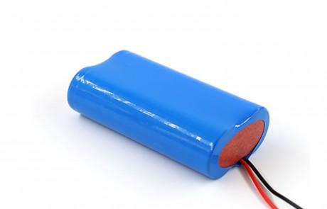7.4V Lithium battery pack 18650 2000mah