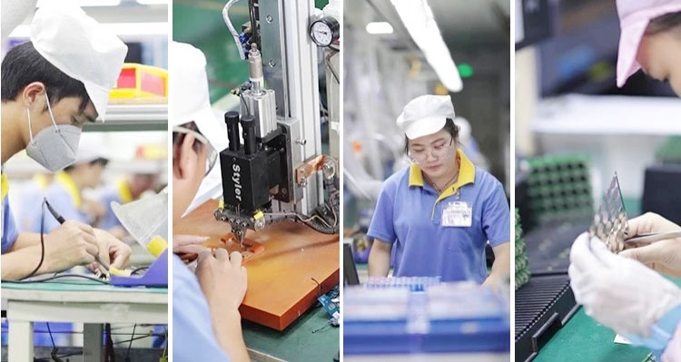 7.4 v rechargeable battery production