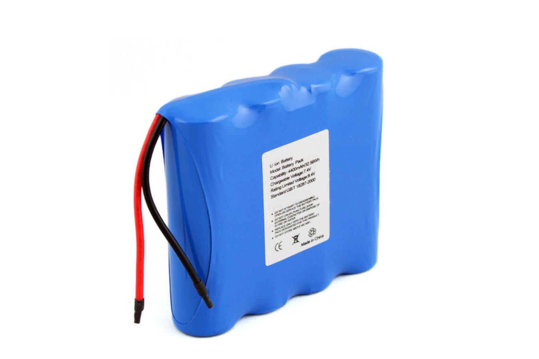 li ion battery pack 7.4 v 4400mah