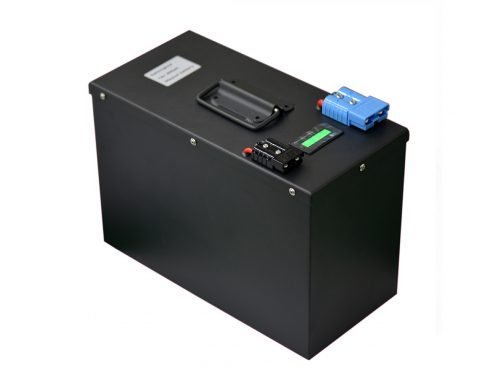 IFR 50Ah 48v LiFePo4 battery Pack with BMS and metal casing