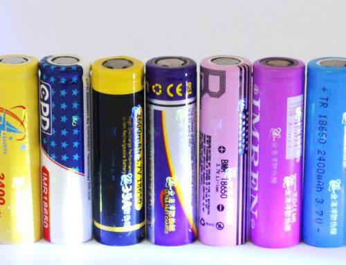18650 battery wrap custom shrink pack design