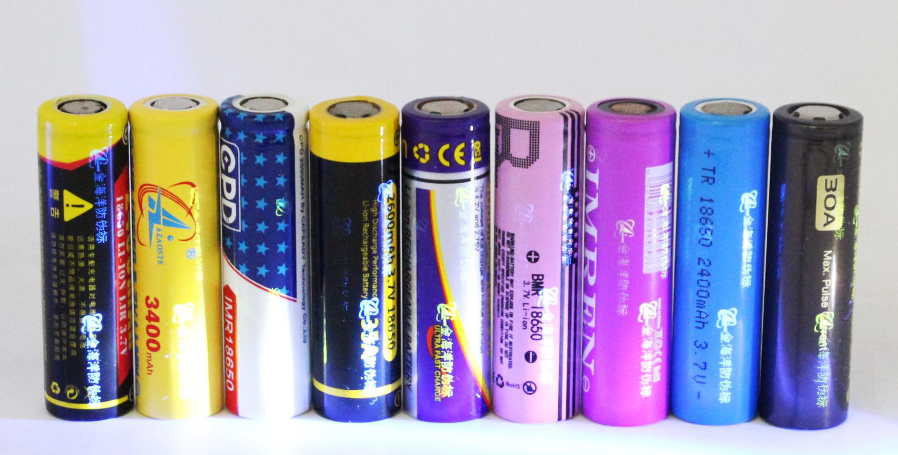 18650 battery wrap custom shrink