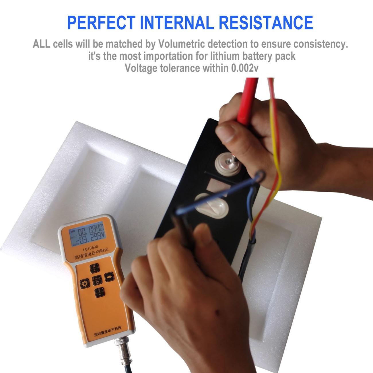 internal resistance low